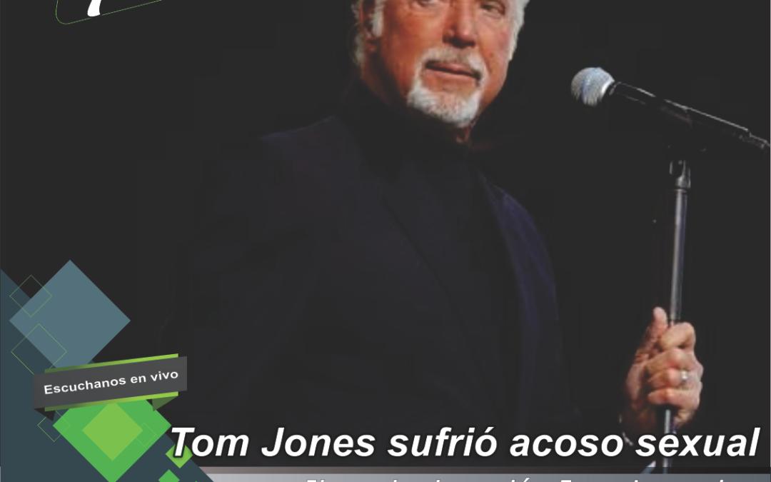 Tom Jones reveló que sufrió acoso sexual