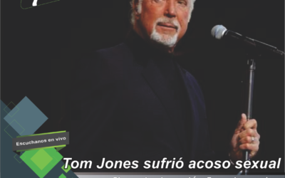 Tom Jones reveló que sufrió acoso sexual