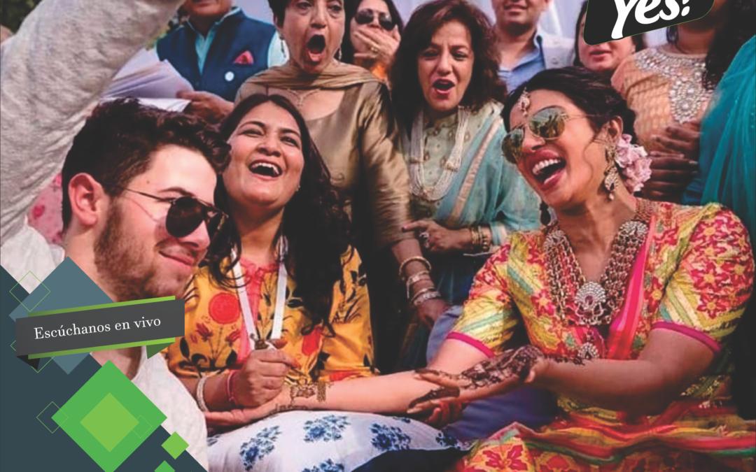 Priyanka Chopra y Nick Jonas se casaron en India